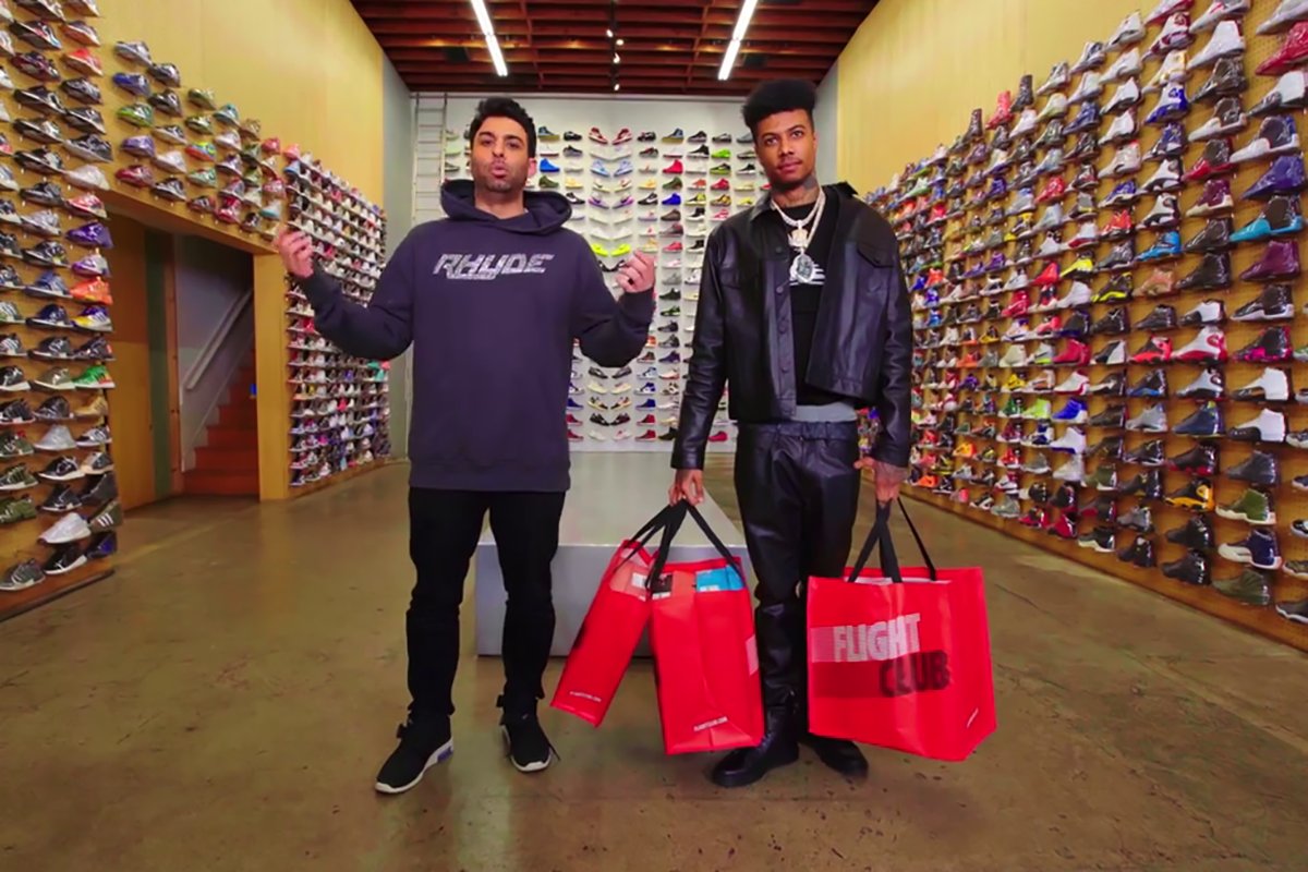VIDEO: Blueface Goes Sneaker Shopping